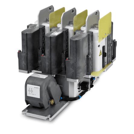 3-полюсные контакторы переменного тока для тяговых двигателей с возбуждением от постоянных магнитов