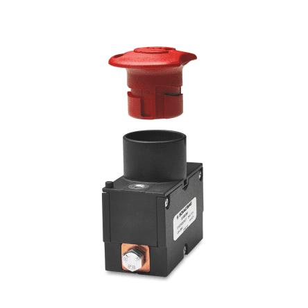 Аварийный выключатель для напряжения до 48 В и иных напряжений аккумуляторных батарей