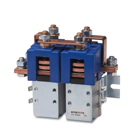 2 и 4-полюсные контакторы для реверсивного двигателя - AFS11, AFS711, AFS177, AFS717, AFS817, AFS797
