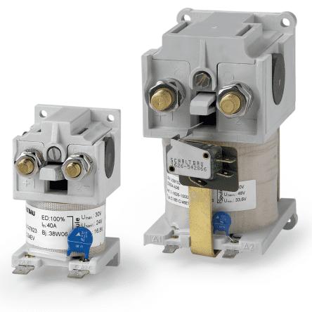 Контакторы для напряжений аккумуляторных батарей (С137 С/110ЕV Schaltbau арт. 1-1618-263187)
