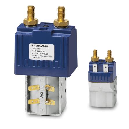 Двунаправленные контакторы для аккумуляторных батарей C110B
